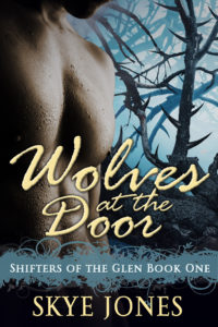 Book Cover: Wolves at the Door: Shifters of the Glen 1