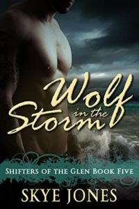 Book Cover: Wolf in the Storm: Shifters of the Glen 5