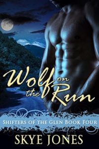 Book Cover: Wolf on the Run: Shifters of the Glen 4